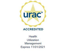 ExcelCare URAC accrediation seal